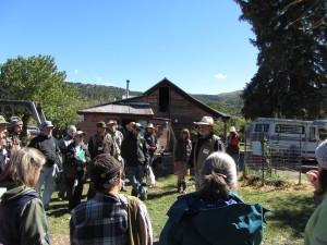 Brook LeVan speaks to group at Sustainable Settings