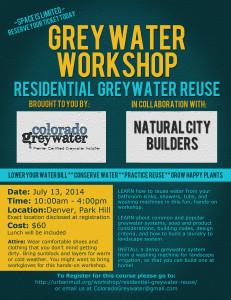 Greywater Workshop July 2014