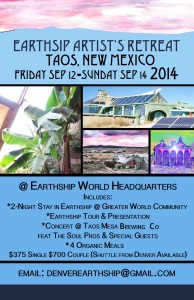 Earthship Artist's Retreat